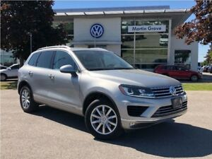 2016 Volkswagen Touareg Sportline PANORAMIC MOONROOF, NAVIGATION