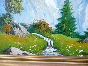 "C. Cosalini ""Alpine Mountain"" Oil Painting Stratford Kitchener Area image 8"