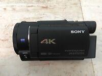 Sony FDR AX33 4k video Camera