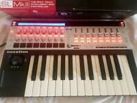 Novation SL 25 MK2 midi controller Keyboard