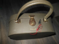 Weekend Case Antler - key- Vintage