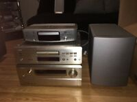 Denon tv sound system with amp