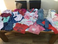 Huge bundle baby clothes. Few 12-18 months / most 18-24 months