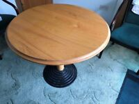 Large round table. Part of house clearance #warlhsesale