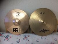 Drum crash Cymbals for sale, all excellent condition