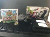 Nintendo 2ds (3ds) with games and case boxed