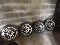 Set of four Ford Focus Wheels