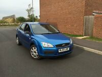 2006 (55) FORD FOCUS 1.6 LX 5 DR PETROL MANUAL GEARBOX FULL MOT 2 OWNERS 2 KEYS SERVICE HISTORY