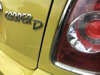 Mini Cooper D 1.6 2010 10 reg 93,000 miles FSH 12 months mot