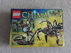 Lego CHIMA 70130 Sparatus Spider NEW Retired set