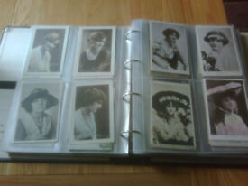 Postcards of glamorous ladies (380 cards)