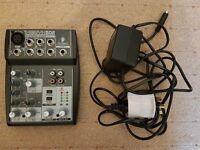 Behringer Xenyx 502 Mixing Desk