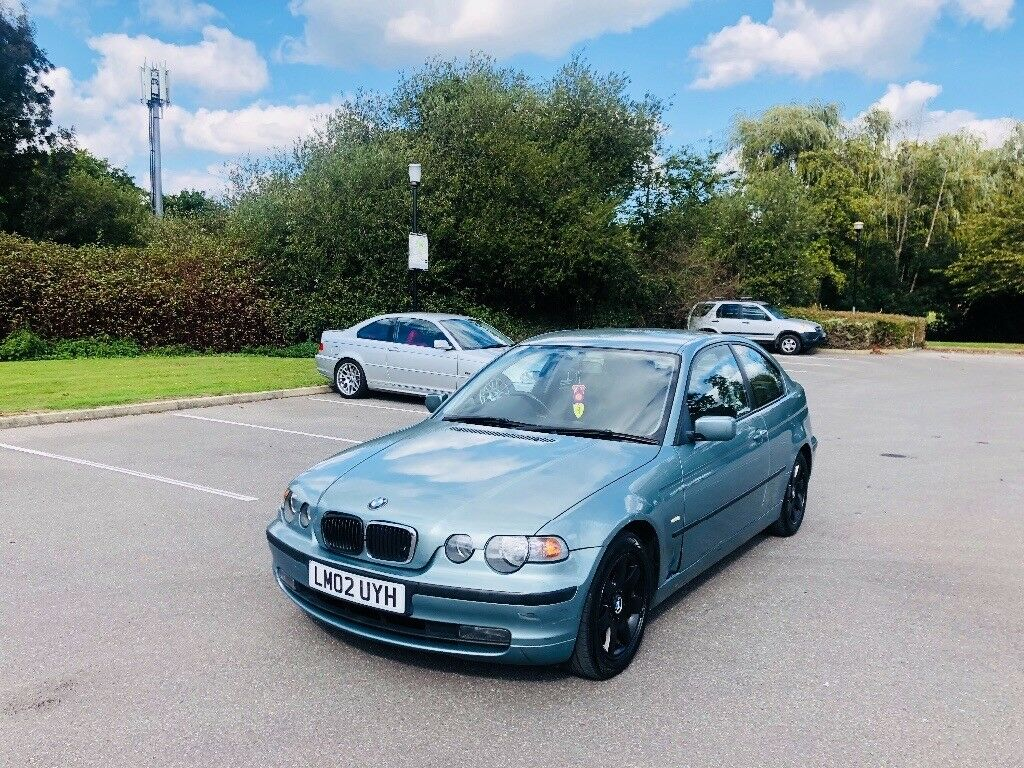 BMW 316ti compact lady owner 10-months mot drive away bargain px swap wel