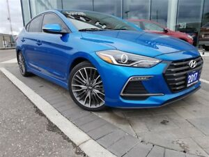 2017 Hyundai Elantra SPORT - NAV, BLUETOOTH, BACKUP CAMERA AND M
