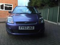 FORD FIESTA 1.2 ZETEC CLIMATE VERY LOW MILAGE
