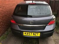 Vauxhall Astra 1.6 litre 2007 plate for sale