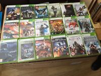 2 xbox360's and various games