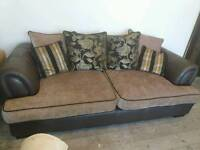 DFS pillowback Sofa - two sizes available (3 or 2 seater)