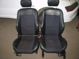 Ford Focus ST170 Half Leather Front & Rear Seats 3dr