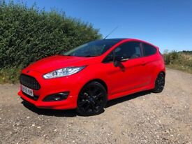 Ford Fiesta 1.0T EcoBoost ST Line Red Edition, December 2016/66, one owner, unblemished, great fun