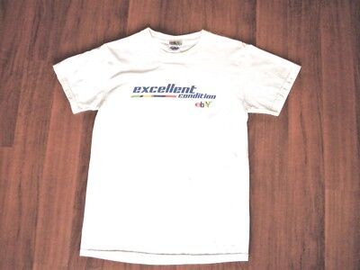 """VINTAGE ebay T shirt sz. Small  """"EXCELLENT CONDITION"""" White  eBay Store"""