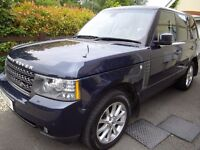 42000 MILE 2011 RANGE ROVER VOGUE 4.4 TURBO DEISEL, recently serviced + motd. Bargain