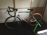 Turbo Trainer and Road bike (OFFERS)