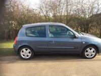 Renault Clio 1.2 campus sport 55 reg lovely first car
