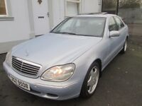 GENUINE LOW MILEAGE MERCEDES S320 CDI WITH MERC HISTORY