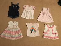 Girls baby clothes 0-3 months