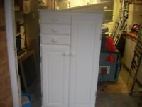 Childs painted wardrobe