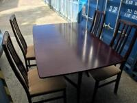 Extending table and 4 chairs FREE DELIVERY PLYMOUTH AREA