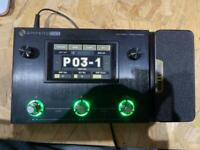 Ampero one multi guitar effects unit