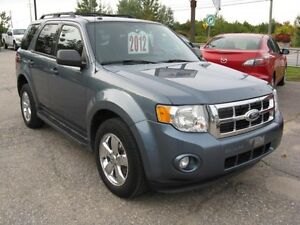 2012 Ford Escape XLT AWD 2.5 litres