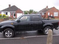NISSAN NAVARA DOUBLE CAB 2005 DIESEL TRUCK EXCELLENT RUNNER STARTS FIRST TIME EVERY TIME