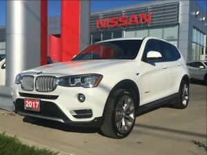 2017 BMW X3 xDrive28i, Leather, Navi, Panoramic Roof
