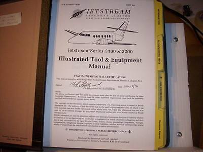 British Aerospace Jetstream 3100 & 3200 Illustrated Tool & Equipment Manual