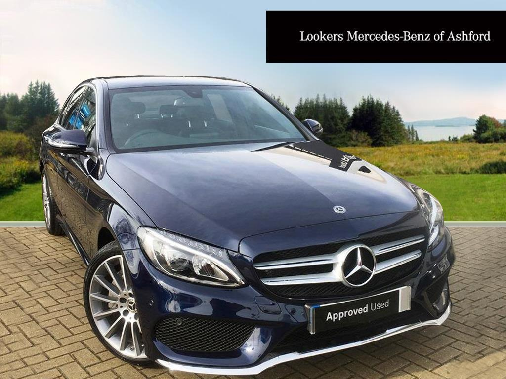 mercedes benz c class c 250 d 4matic amg line premium blue 2018 03 05 in ashford kent gumtree. Black Bedroom Furniture Sets. Home Design Ideas