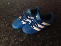 Addidas football boots kids size 12