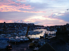 whitby holiday cottage. overlooking harbour. short walk along harbour to whitby town and beach