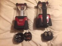 Two Coleman LED camping lamps