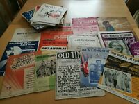 Large Collection of 1930s / 1940s Sheet Music