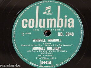 78rpm-MICHAEL-HOLLIDAY-wringle-wrangle-four-walls-DB-3948