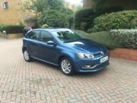 2014 VOLKSWAGEN POLO 1.0 BlueMotion SE Petrol manual 5 door 20 road tax one year