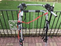 3 bicycle hi level carrier in excellent condition