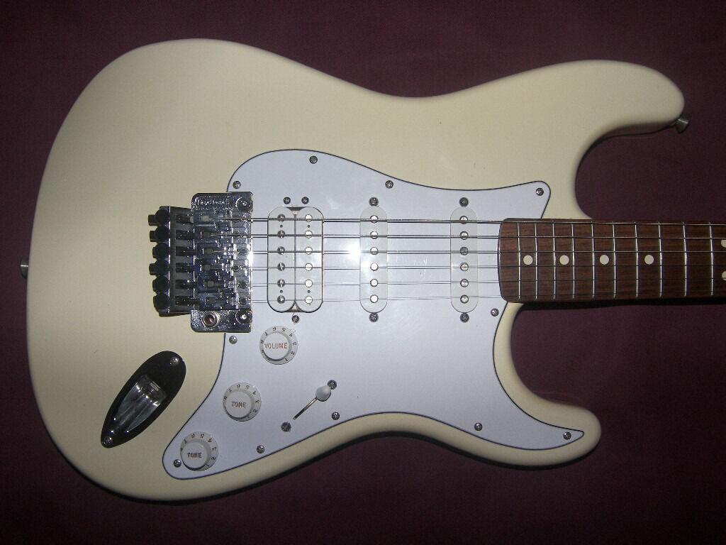 Fender Stratocaster Hss Mexican : fender stratocaster hss with floyd rose mexico mexican mim electric guitar 2001 2002 ~ Hamham.info Haus und Dekorationen