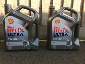 Shell Helix Ultra 5W30 oil (2*5 litres)