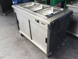CATERING COMMERCIAL BAIN MARIE UNDER HOT CUPBOARD CAFE KEBAB CHICKEN PIZZA RESTAURANT KITCHEN SHOP