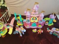 Vtech toot toot princess castle bundle