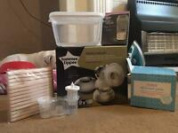Tommee Tippee electric pump & accessories